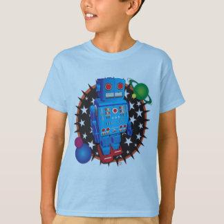 Big Blue Robot T-Shirt
