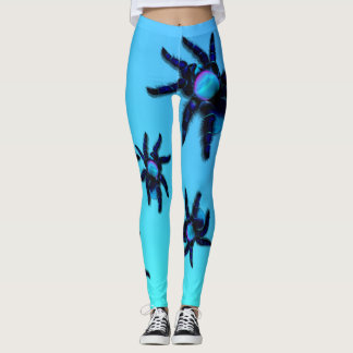 Big Blue Spider Leggings