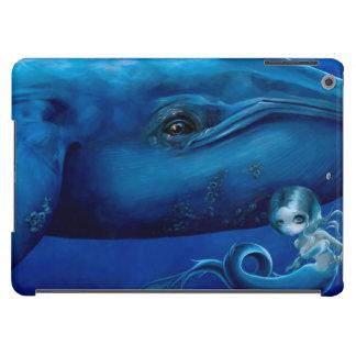 """""""Big Blue Whale"""" iPad Air Case"""