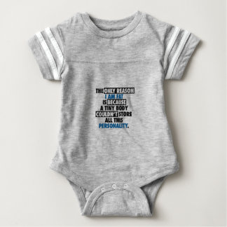 Big Body Awesome Personality Baby Bodysuit