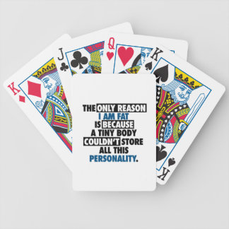 Big Body Awesome Personality Bicycle Playing Cards