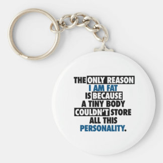 Big Body Awesome Personality Keychain
