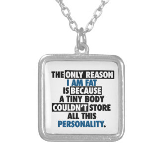 Big Body Awesome Personality Silver Plated Necklace