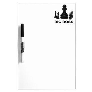 Big Boss Dry Erase White Board