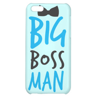 Big boss man nice Bossy design with a bow tie iPhone 5C Cases