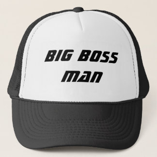 Big Boss Man Trucker Hat