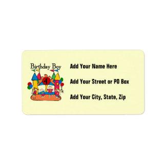 Big Bounce Boy 4th Birthday Tshirts and Gifts