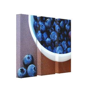 Big Bowl of Blue Canvas Print