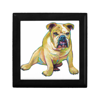 Big Boy Cute Bulldog Gift Box