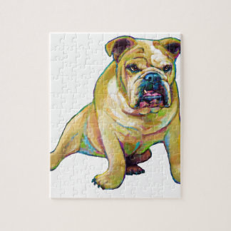 Big Boy Cute Bulldog Jigsaw Puzzle