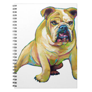 Big Boy Cute Bulldog Notebook