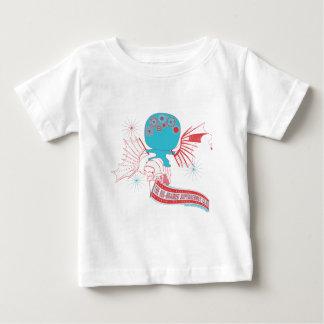 Big-Brained Superhero Da Vinci Flying Avatar Baby T-Shirt