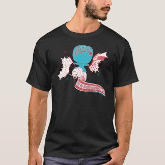 Big-Brained Superhero Da Vinci Flying Avatar T-Shirt