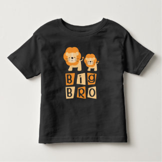 Big Bro Lion Brother Boys T-shirt