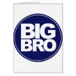 big bro t-shirt mix and match design greeting cards