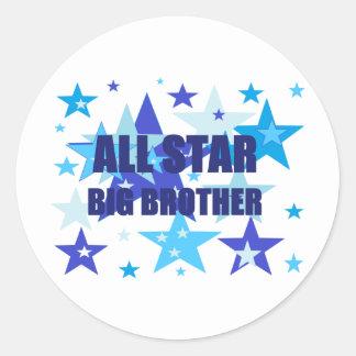 Big Brother All Star Sticker
