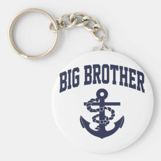 Big Brother Anchor Keychain