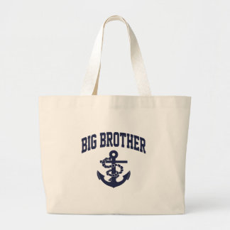 Big Brother Anchor Large Tote Bag