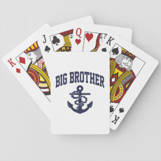 Big Brother Anchor Playing Cards