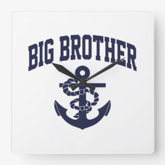 Big Brother Anchor Square Wall Clock