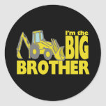 Big Brother Backhoe Stickers