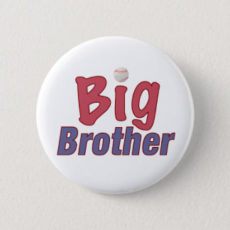 Big Brother (baseball) 2 Inch Round Button