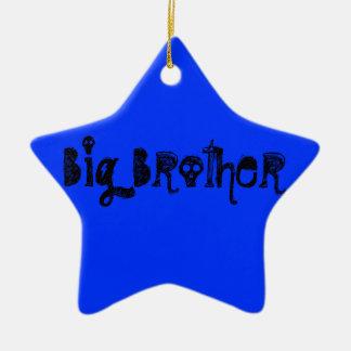 Big Brother Ceramic Star Ornament