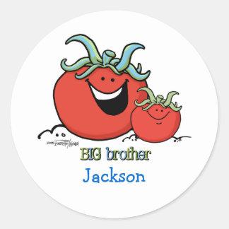 Big Brother - Chief tomato Round Sticker