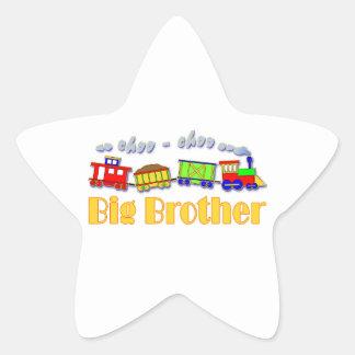 Big Brother Choo Choo Train Star Sticker
