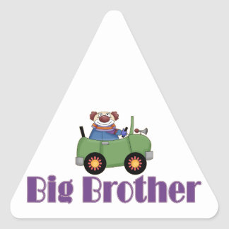 Big Brother Clown Car Sticker