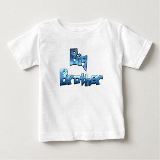 Big Brother Cool Blue Text Shirt