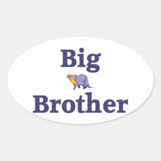 Big Brother Dinosaur 4 Sticker
