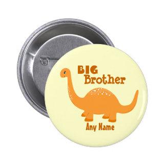 Big Brother Dinosaur Print Button