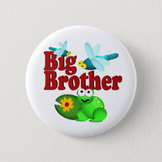 Big Brother Dragonfly 2 Inch Round Button