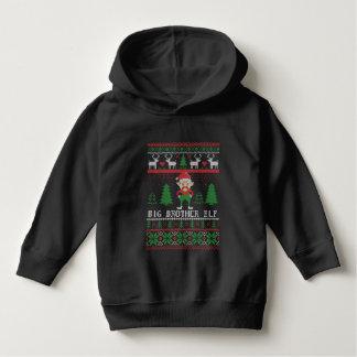 Big Brother Elf Ugly Christmas Hoodie