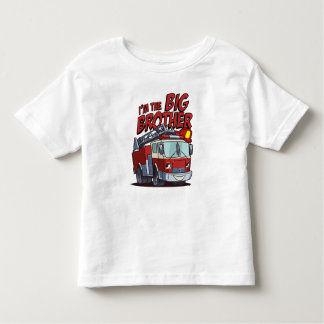 Big Brother Fire Truck Toddler T-shirt