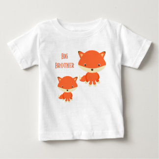 Big Brother Foxes Baby T-Shirt