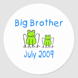 Big Brother Frogs July 2009 Sticker