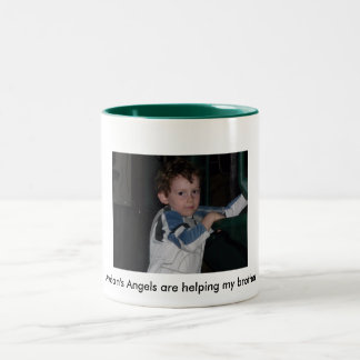 Big Brother helping Autism Recovery Fund, Mug