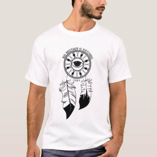 Big Brother Is Watching White T T-Shirt