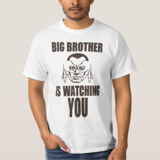 Big brother is watching you (finger glasses) tee