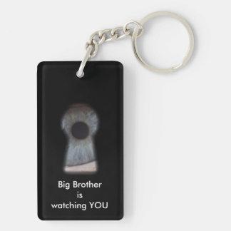 Big brother is watching you acrylic keychain