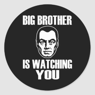 Big Brother is Watching You Stickers