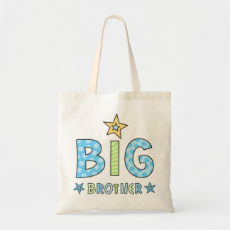 Big brother kids tote bag with stars