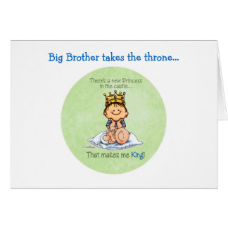 Big Brother - King of Princess Card