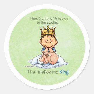 Big Brother - King of Princess Sticker