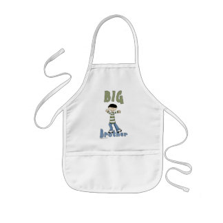 Big Brother Little Boy 1 Kids Apron