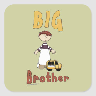 Big Brother Little Boy 3 Stickers