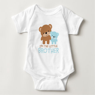 Big Brother Little Brother Bear Baby Bodysuit