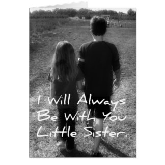 Big Brother Little Sister Card